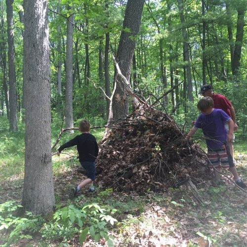 Forest Fridays at Nature's Backpack weekday programs